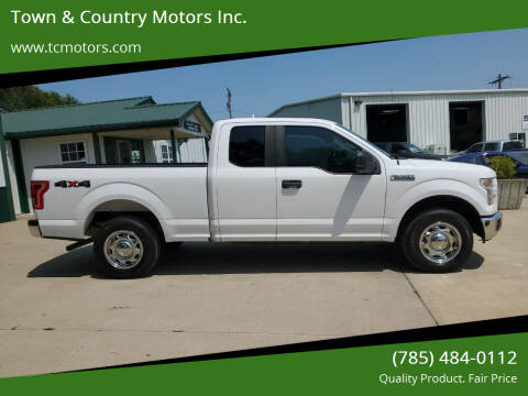 2017 Ford F-150 for sale at Town & Country Motors Inc. in Meriden KS