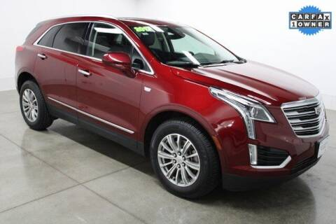 2017 Cadillac XT5 for sale at Bob Clapper Automotive, Inc in Janesville WI