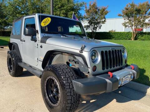 2011 Jeep Wrangler for sale at UNITED AUTO WHOLESALERS LLC in Portsmouth VA