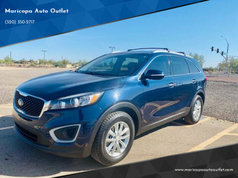 2016 Kia Sorento for sale at Maricopa Auto Outlet in Maricopa AZ
