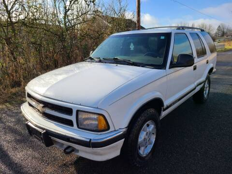 1997 Chevrolet Blazer for sale at State Street Auto Sales in Centralia WA