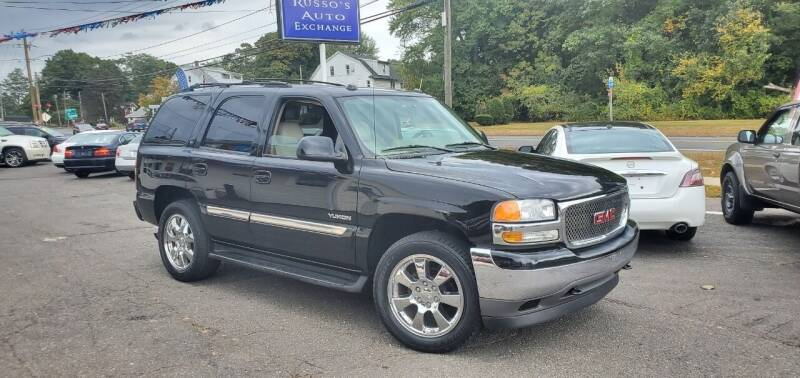 2005 GMC Yukon for sale at Russo's Auto Exchange LLC in Enfield CT