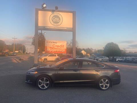 2015 Ford Fusion for sale at Corry Pre Owned Auto Sales in Corry PA