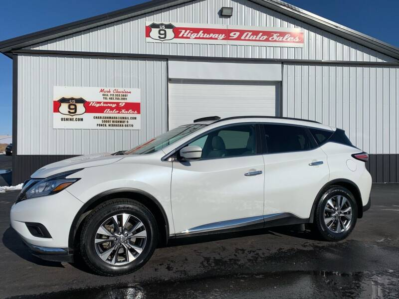 2016 Nissan Murano for sale at Highway 9 Auto Sales - Visit us at usnine.com in Ponca NE