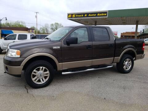 2006 Ford F-150 for sale at R & S TRUCK & AUTO SALES in Vinita OK