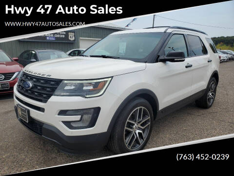 2016 Ford Explorer for sale at Hwy 47 Auto Sales in Saint Francis MN