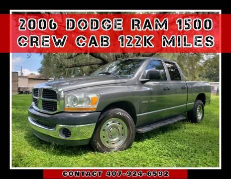 2006 Dodge Ram Pickup 1500 for sale at AFFORDABLE ONE LLC in Orlando FL