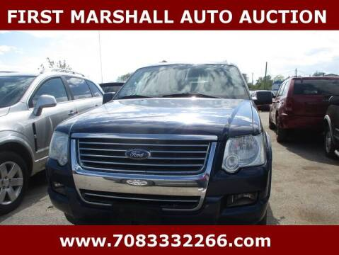 2008 Ford Explorer for sale at First Marshall Auto Auction in Harvey IL