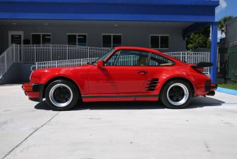 1984 Porsche 911 for sale at PERFORMANCE AUTO WHOLESALERS in Miami FL