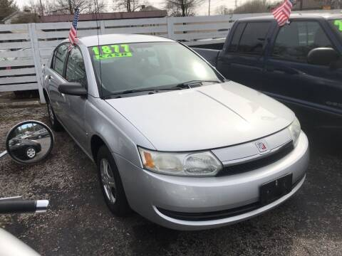 2003 Saturn Ion for sale at Klein on Vine in Cincinnati OH