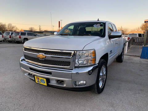 2013 Chevrolet Silverado 1500 for sale at Atrium Autoplex in San Antonio TX