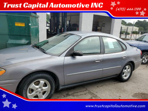 2006 Ford Taurus for sale at Trust Capital Automotive Inc. in Covington GA