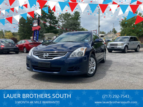 2011 Nissan Altima for sale at LAUER BROTHERS SOUTH in York PA