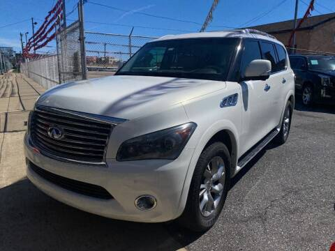 2011 Infiniti QX56 for sale at The PA Kar Store Inc in Philladelphia PA