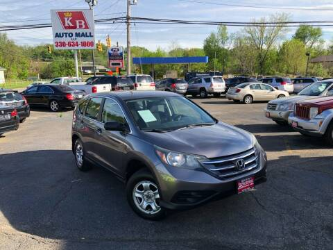 2012 Honda CR-V for sale at KB Auto Mall LLC in Akron OH
