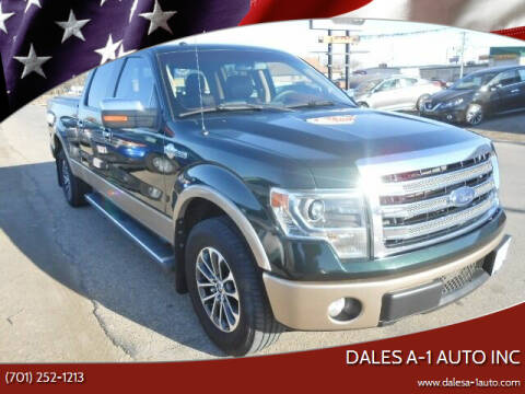 2013 Ford F-150 for sale at Dales A-1 Auto Inc in Jamestown ND
