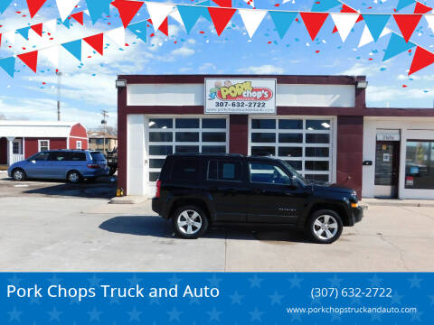 2014 Jeep Patriot for sale at Pork Chops Truck and Auto in Cheyenne WY