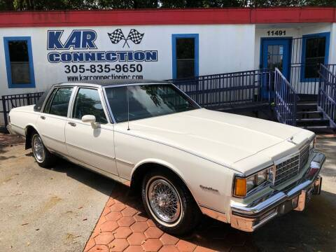 1985 Chevrolet Caprice for sale at Kar Connection in Miami FL
