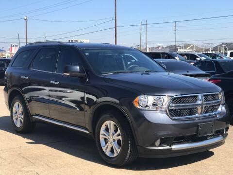 2013 Dodge Durango for sale at Discount Auto Company in Houston TX