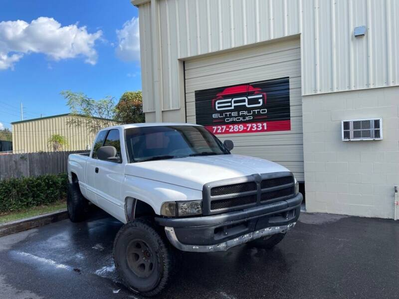 2000 Dodge Ram Pickup 1500 for sale at Elite Auto Group LLC in Pinellas Park FL