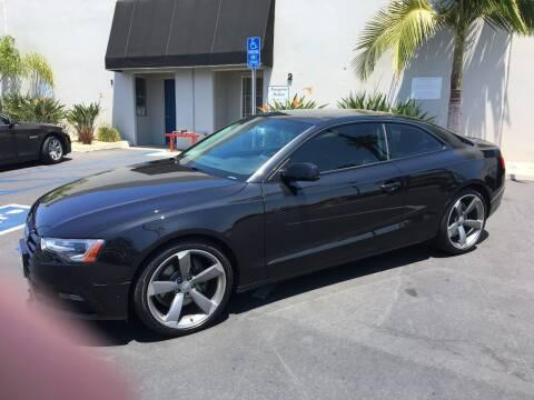2014 Audi A5 for sale at MANGIONE MOTORS ORANGE COUNTY in Costa Mesa CA