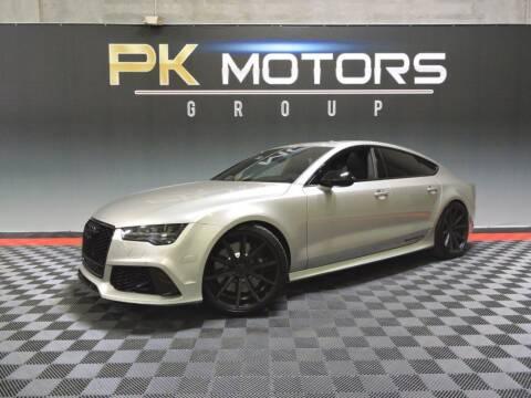 2016 Audi RS 7 for sale at PK MOTORS GROUP in Las Vegas NV
