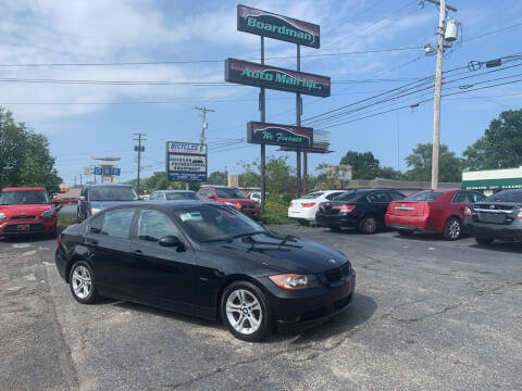 2008 BMW 3 Series for sale at Boardman Auto Mall in Boardman OH