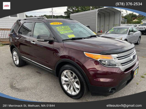 2011 Ford Explorer for sale at ELITE AUTO SALES, INC in Methuen MA