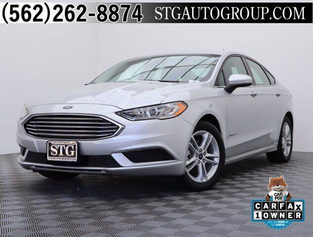 2018 Ford Fusion Hybrid for sale in Bellflower, CA