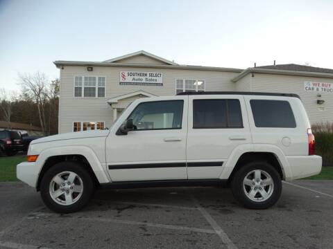 2008 Jeep Commander for sale at SOUTHERN SELECT AUTO SALES in Medina OH