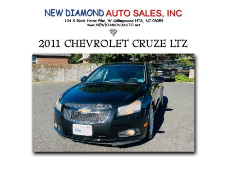 2011 Chevrolet Cruze for sale at New Diamond Auto Sales, INC in West Collingswood Heights NJ