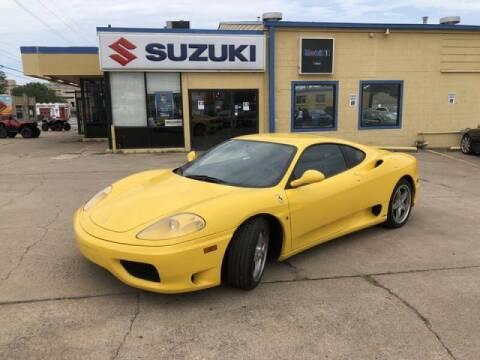 2004 Ferrari 360 Modena for sale at Suzuki of Tulsa - Global car Sales in Tulsa OK