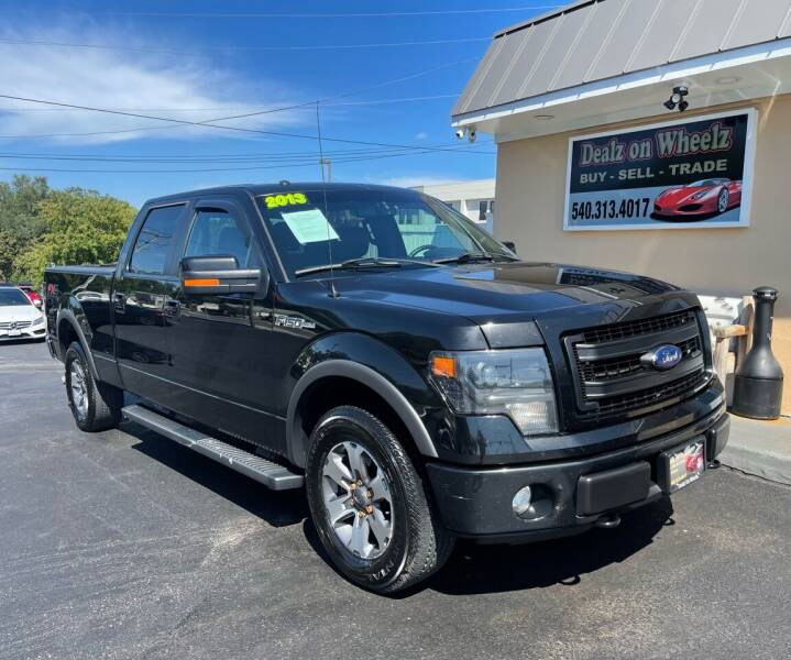 2013 Ford F-150 for sale at DEALZ ON WHEELZ in Winchester VA