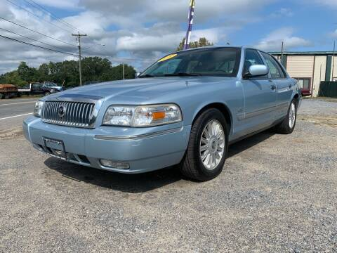 2010 Mercury Grand Marquis for sale at E's Wheels Auto Sales in Hudson Falls NY
