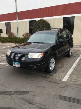2008 Subaru Forester for sale at Specialty Auto Wholesalers Inc in Eden Prairie MN