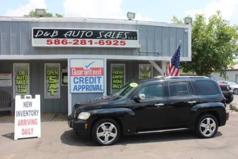 2009 Chevrolet HHR for sale at D & B Auto Sales LLC in Washington Township MI