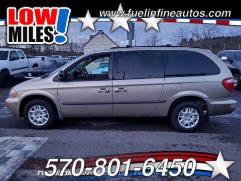 2002 Dodge Grand Caravan for sale at FUELIN FINE AUTO SALES INC in Saylorsburg PA