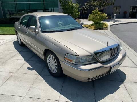 2005 Lincoln Town Car for sale at Top Motors in San Jose CA