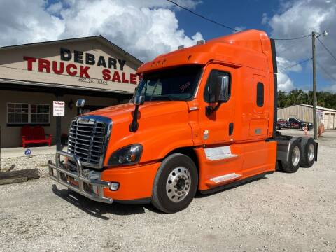 2015 Freightliner Cascadia for sale at DEBARY TRUCK SALES in Sanford FL