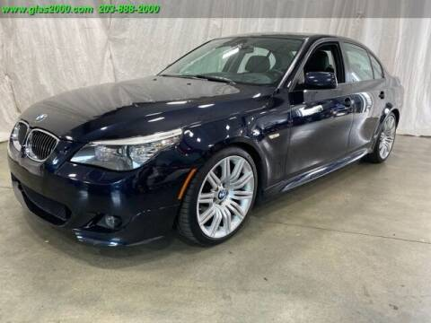 2009 BMW 5 Series for sale at Green Light Auto Sales LLC in Bethany CT