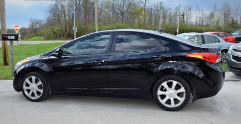 2012 Hyundai Elantra for sale at PINNACLE ROAD AUTOMOTIVE LLC in Moraine OH