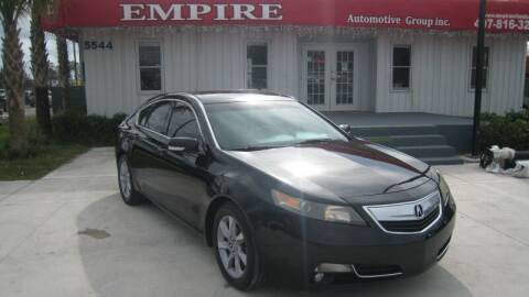 2013 Acura TL for sale at Empire Automotive Group Inc. in Orlando FL