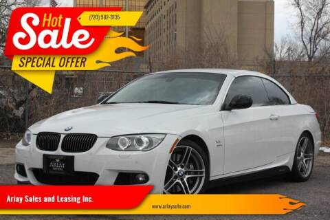 2011 BMW 3 Series for sale at Ariay Sales and Leasing Inc. - Pre Owned Storage Lot in Denver CO