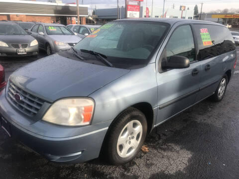 2004 Ford Freestar for sale at American Dream Motors in Everett WA