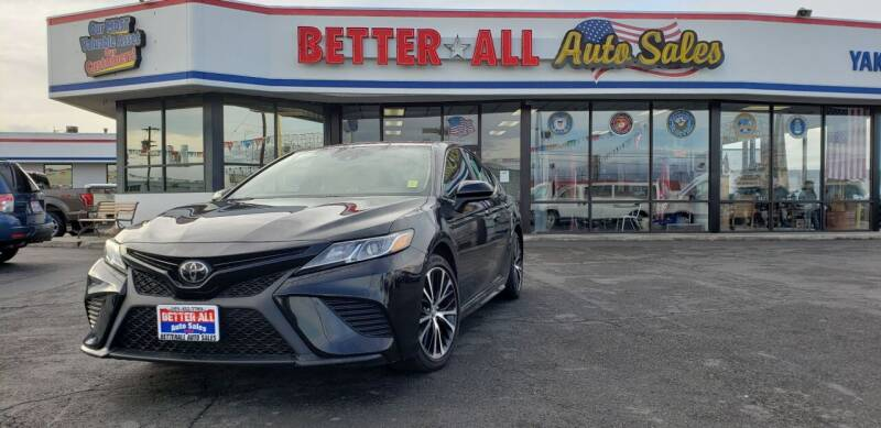 2019 Toyota Camry for sale at Better All Auto Sales in Yakima WA