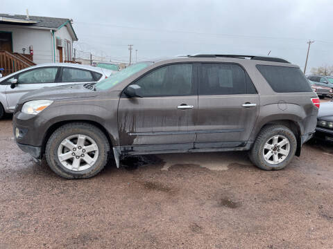 2007 Saturn Outlook for sale at PYRAMID MOTORS - Fountain Lot in Fountain CO