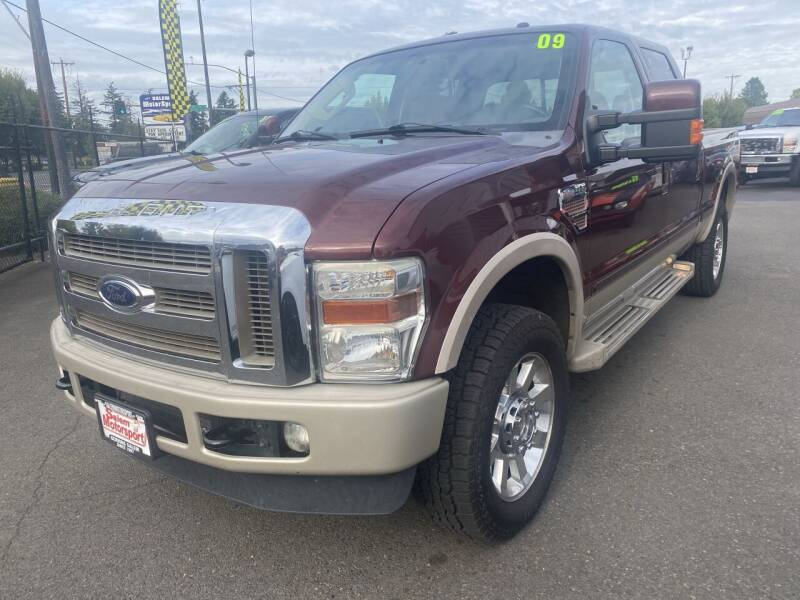 2009 Ford F-250 Super Duty for sale at Salem Motorsports in Salem OR