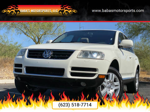 2005 Volkswagen Touareg for sale at Baba's Motorsports, LLC in Phoenix AZ