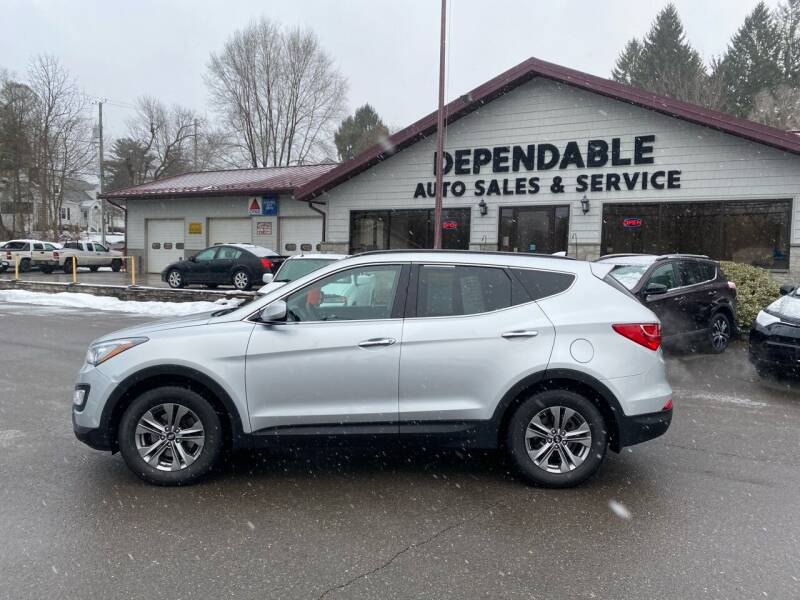 2016 Hyundai Santa Fe Sport for sale at Dependable Auto Sales and Service in Binghamton NY