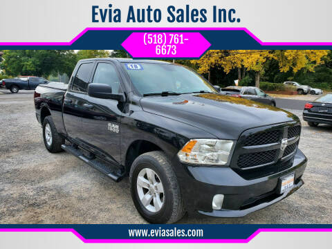 2018 RAM Ram Pickup 1500 for sale at Evia Auto Sales Inc. in Glens Falls NY